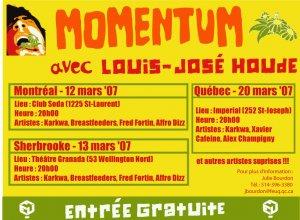 Momentum Printemps 2007