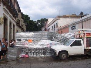 Les barricades d'Oaxaca