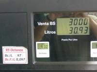 Le prix de l'essence au Venezuela