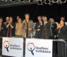 Québec Solidaire se dote d'un nouveau logo!