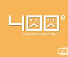Le 400ème anniversaire de Québec ne doit pas être un événement comme les autres