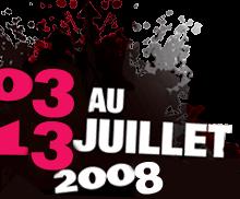 L'organisation du Festival d'été dévoile une partie de sa programmation pour 2008
