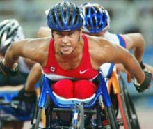 Gilles Duceppe réclame l'équité pour les athlètes paralympiques