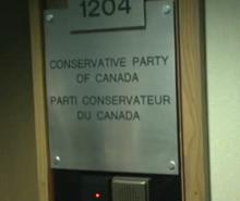 Perquisition de la GRC au Parti Conservateur du Canada