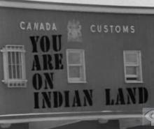 Les droits des Mohawks d'Akwesasne