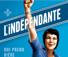 L'indépendante: une véritable bière indépendantiste!