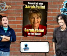 Les Justiciers Masqués piègent Sarah Palin avec un Sarkozy parodié
