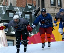 Le « Red Bull Crashed Ice »