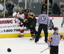 Haro à la violence au hockey