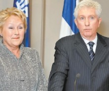 Pauline Marois et Gilles Duceppe répliquent à Nicolas Sarkozy