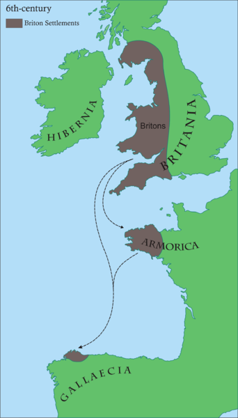 Britonia au 6ème siècle