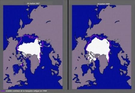 La banquise Arctique