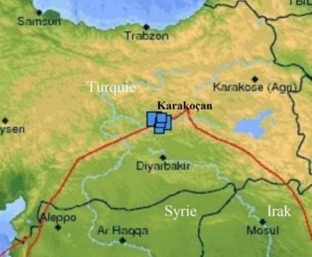 Tremblements de terre en Turquie