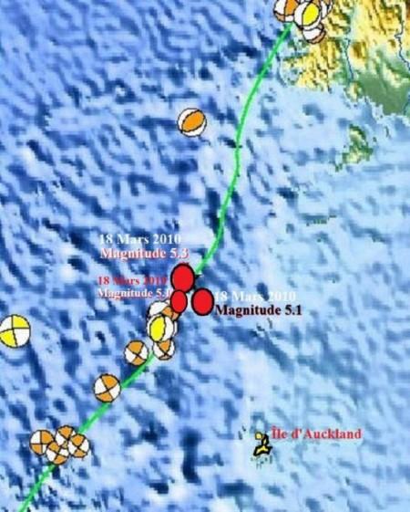 Tremblements de terre en Nouvelle-Zélande