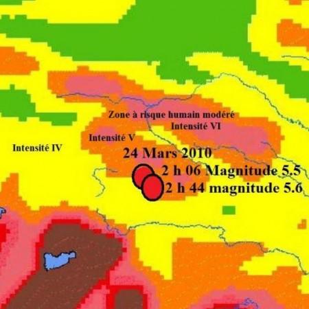 Tremblements de Terre au Tibet