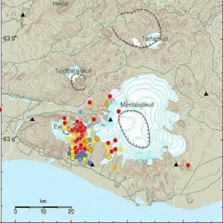Les rift de Reykjanes et d'Islande du Nord
