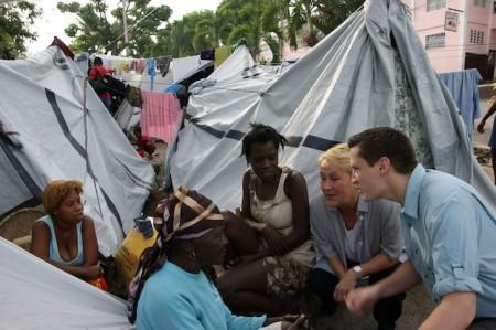 Volet humanitaire de la mission en Haïti