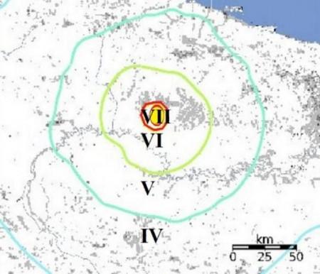 Tremblement de terre en Indonésie