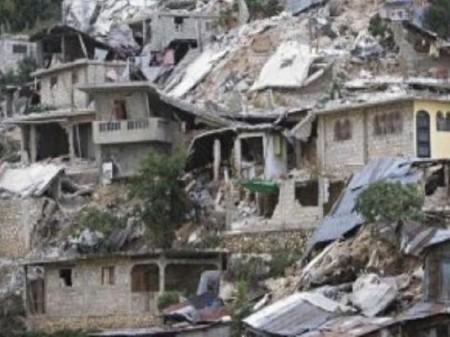 Maisons écroulées