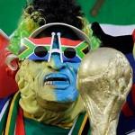 Un fan portugais au mondial de football