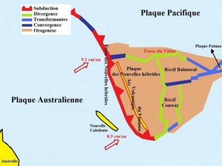 Plaques Australienne et Pacifique