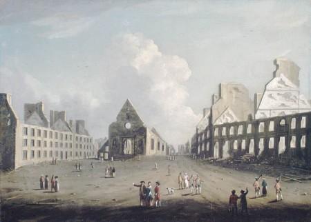 Québec détruite en 1759
