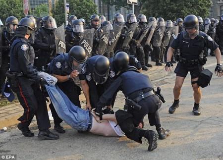 Violence lors du sommet du G-20