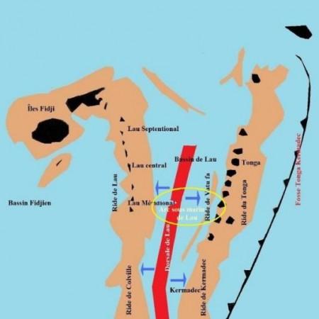 Arc sous-marin de Lau