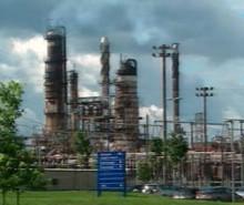 Démantèlement de la raffinerie Shell de Montréal-Est