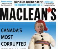 Le Maclean's et la corruption au Québec: la faute aux fédéralistes!
