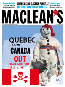 MACLEAN'S change sa page couverture !
