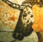 Salle des taureaux dans la grotte de Lascaux