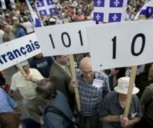 Des milliers de manifestants dénoncent le bâillon de Charest