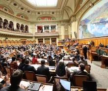 Suisse : publication d'un premier sondage à une année des élections fédérales