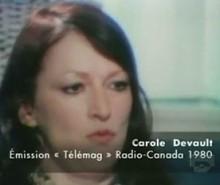 Carole Devault, traitresse de l'indépendance du Québec