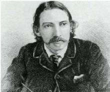 Logo Google pour les 160 ans de Robert Louis Stevenson