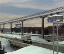 TrensQuébec: un monorail révolutionnaire basé sur le moteur-roue