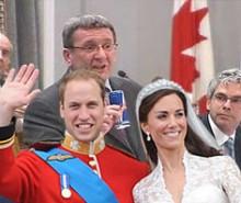Visite de William et Kate Middleton à Québec: le fou du roi aux commandes!