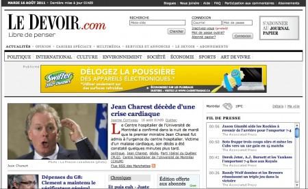 Jean Charest mort?