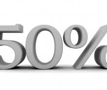 Indépendance: pourquoi s'est-on arrêté à exactement 50%?