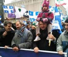Des milliers d'indépendantistes dans la rue: un franc succès pour la marche pour l'indépendance
