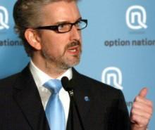 Jean-Martin Aussant dévoile la plateforme d'Option nationale