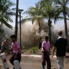 Arrivée du tsunami à Ao Nang, en Thaïlande