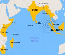 Sept ans depuis le tsunami de l'Océan Indien en photos