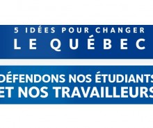 Droits de scolarité: débat entre Marie Malavoy, PQ, et Éric Caire, CAQ