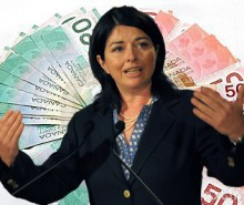Hausse des frais de scolarité: À la classe moyenne de payer, confie Line Beauchamp