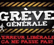 Grève étudiante: mobilisations contre le gouvernement Charest