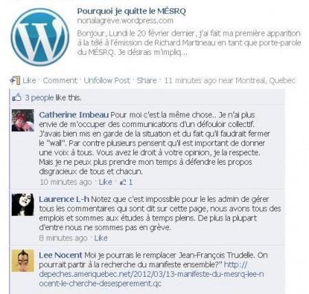 Jean-Francois Trudelle quitte le MESRQ