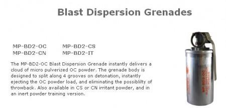 blast disperser