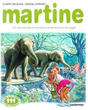 Martine montre son cul aux grèvistes